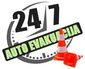 Diennakts AUTOEVAKUATORS 24/7 Logo